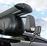 VDP Alu Relingträger R008-120 für VW Tiguan ab 07 Dachträger bis 90kg abschließbar Test