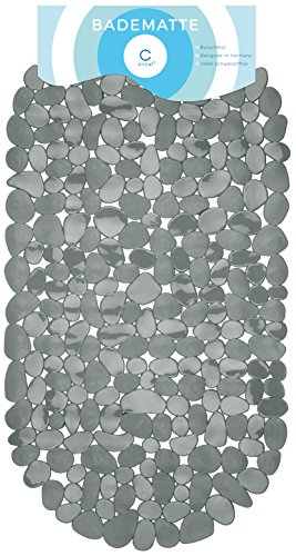 Circulators Alfombrilla bañera 68x 35cm gris