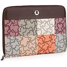 Cartera Portadocumentos Tous modelo Kaos Cuadrados varios colores con bolso verano Tous original de regalo
