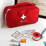 OSYARD 23*13*7.5cm Tragbar Wasserdicht Medizintasche Sanitätstasche Reiseapotheke Tasche Erste Hilfe SetTragbare Mini-Erste-Hilfe-Set für Reisen,Zuhause,Büro,Fahrzeug,Camping,Arbeitsplatz und Outdoor