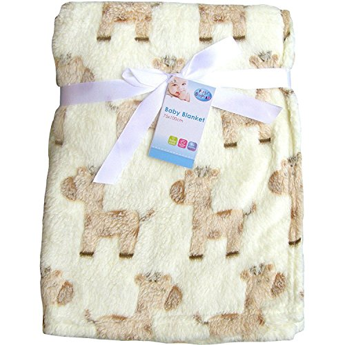 EA-Luxury-Soft-Fleece-Baby-Blanket-in-Cute-Elephant-Design-75-x-100cm-for-Babies-from-Newborn
