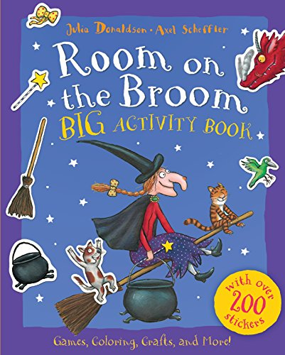 Room on the Broom Big Activity Book (2 Halloween Online)
