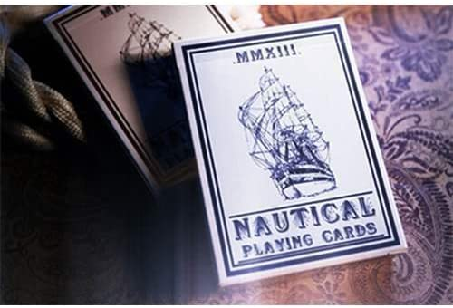 SOLOMAGIA Nautical Playing Cards (Blue) by House House House of Playing Cards - Tours et Magie Magique | Le Roi De La Quantité  3f1ab7