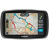 TomTom GO 6000 Europe Navigationssystem (15 cm (6 Zoll) Touchscreen, 8GB interner Speicher, QuickGPSfix, Lifetime TomTom Traffic & Maps) schwarz