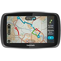 TomTom GO 6000 6-inch Sat Nav with European Maps and Lifetime Map and Traffic Updates - Black