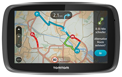 tomtom-go-6000-6-inch-sat-nav-with-european-maps-and-lifetime-map-and-traffic-updates-black