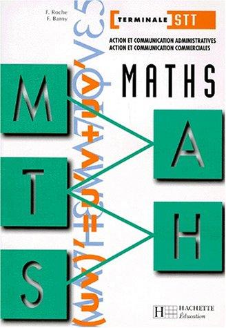 Maths, Terminale STT, ACA-ACC