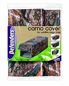 Camo Cover for Wildlife Cage Trap
