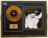 Everythingcollectible Jean Michel Jarre/Mini Metal Gold Disc & Photo Display/ÉDITION LIMITÉE/COA/OXYGENE