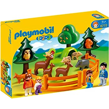 playmobil 6772 jeu de construction parc d 39 animaux et. Black Bedroom Furniture Sets. Home Design Ideas