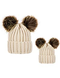 Amazon.es  gorros de lana con pompon - Sombreros y gorras ... e7627ec4fc7