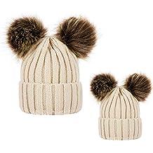 Pack de 2 Sombreros de Punto para Padres e Hijos 6d0aa1bfb425