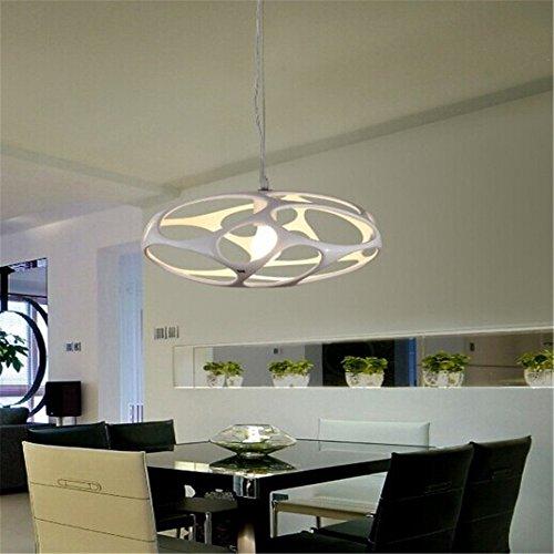 Pendelleuchte Hängeleuchte Einem modernen, minimalistischen Stil kreative Raumfahrzeug Kronleuchter Continental stilvolles Restaurant Wohnzimmer Esszimmer, wo die Schlafzimmer würde die Lampen, Weiß