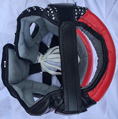 Rad Boxen MMA Displayschutzfolie Kopfbedeckung UFC Kopfschutz Sparring Helm Junior, Senior Unisex Abbildung 3