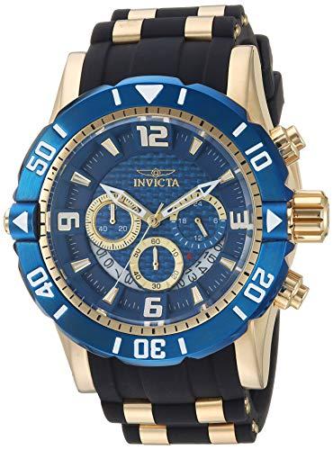 Invicta 23704 - Reloj de Pulsera Hombre, Poliuretano, Color Negro