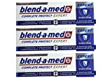 3x 75ml Blend-a-med Complete Protect Expert Starke Zähne Zahnpasta NEU