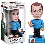 Big Bang Theory Sheldon Star Trek Uniform Bobble Head