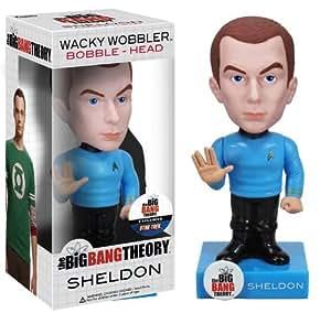 Big Bang Theory Bobble Head: Sheldon (Star Trek Exclusive)