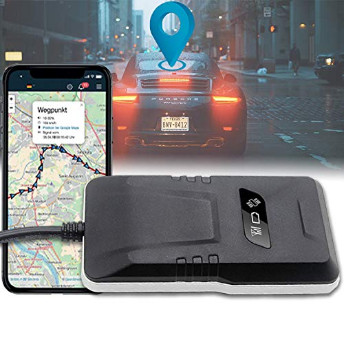 SALIND GPS-Tracker Auto mit Direktanschluss an KFZ-Batterie (12-24V) - Live-Ortung/Online-Ortung