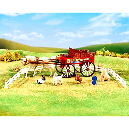 breyer-stablemates-country-fair-waggon