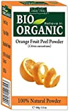 Pure Organic Microfine Orangenschalenpulver mit Gratis Rezeptbuch 100g (Orange Fruit Peel Powder)