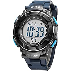 Unisex Sports Analog Digital Luminous Water Resistant Wrist Watches for Boys Girls