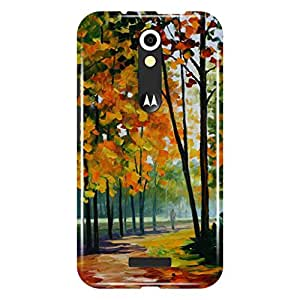 a AND b Designer Printed Back Case / Back Cover For Motorola Moto X Force (Moto_XF_3D_1626)