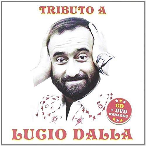 Tributo Lucio Dalla CD + DVD Basi Karaoke, Piazza Grande, Caruso, Attenti al Lupo, Canzone...