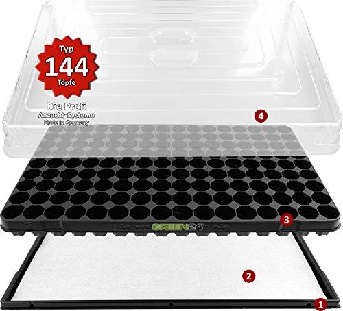 Hydroponik 144 XL Zimmergewächshaus - 2