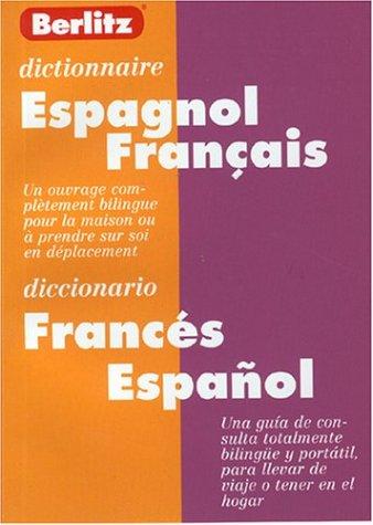 Dictionnaire espagnol/français - français/espagnol