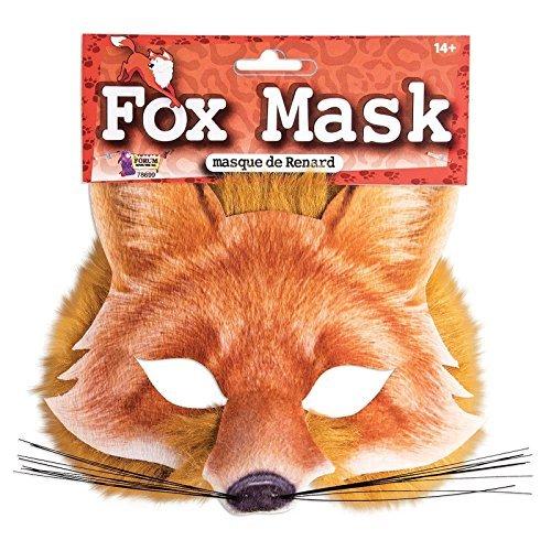 Realistisch Gesicht-maske Buchwoche Tier Zoo Dschungel Wald Creature Karneval Gesichtsmaske für Erwachsene und Kinder - ()