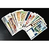 GOLD MINT 10 Different Asia and Europe Countries World Banknotes Foreign Currency Collection(GOLD MINT14)