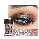 Sparkly Lidschatten SOMESUN Augen Makeup Perle Metallic Lidschatten-Palette (#11)