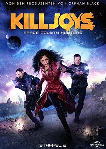 Killjoys - Space Bounty Hunters - Staffel 2 [Blu-ray] (Wars Hunter Der Bounty)