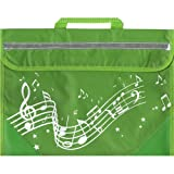 Musicwear: Sacoche De Musique Portée Onduleuse (Vert) Accessoire