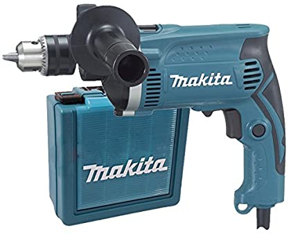 Makita HP1630K Taladro percutor 710W + maletin