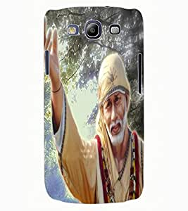 ColourCraft Lord Sai Baba Design Back Case Cover for SAMSUNG GALAXY S3 I9300