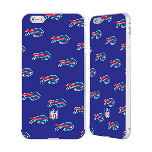 Ufficiale NFL Righe 2017/18 Buffalo Bills Argento Cover Contorno con Bumper in Alluminio per Apple iPhone 5 / 5s / SE Pattern