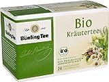 Bünting Tee Bio Kräuter 20 x 2g Beutel