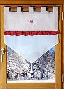 Rideau brise bise - 60 x 90 cm - Charmeur