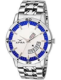Xpra Analog Day and Date Display Wrist Watch for Men/Boys (XP-DD-37)