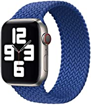Braided Solo Loop Replacement Band For Apple Watch 44mm / 42mm   Elastic Replacement Strap   Premium Quality  