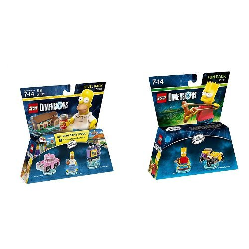 LEGO Dimensions The Simpsons Level Pack + Bart Fun Pack