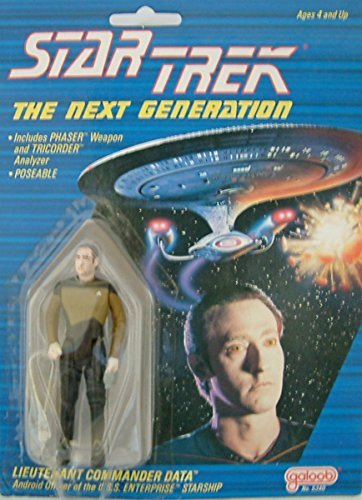 Star Trek The Next Generation Lieutenant Commander Data by Galoob