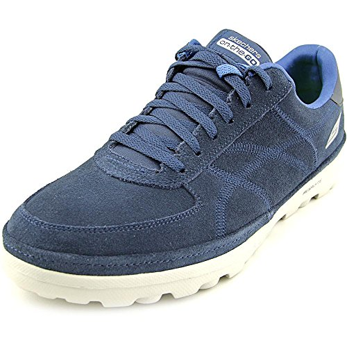 Skechers Mens Navy 'Go Walk Stoic' Trainers 9