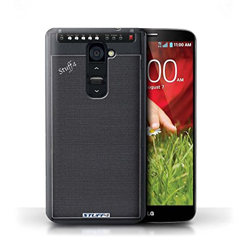 Kobalt® Imprimé Etui / Coque pour LG G2 / Double conception / Série Haut-Parleur dessin Amplificateur