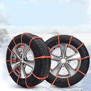 Anti-Skid-Reifen-Ketten-Nylon-Streifen für Auto-Schlamm-Rad-Reifen verdickter Reifen Anti-Rutsch-Auto-Zubehör-Sehne justierbare Ketten Universal