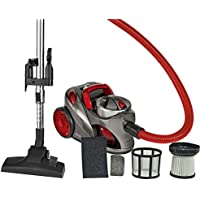 Capacità di aspirapolvere HEPA-filtro igiene apparecchi rosso