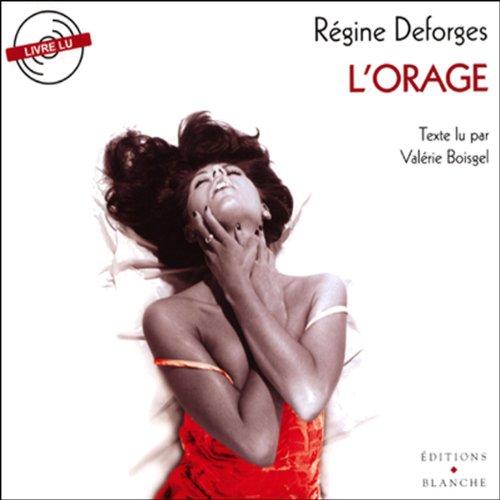 L'orage par Régine Deforges