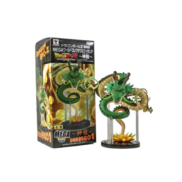 Wind Dragon Ball Z Mega World Collectible Figure WCF Shenron Figure 6.6 by 4